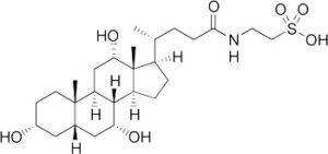 抱合胆汁酸であるタウロコール酸